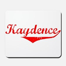 Kaydence Vintage (Red) Mousepad
