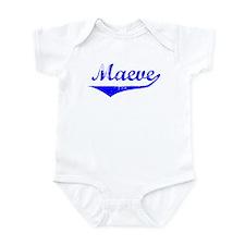 Maeve Vintage (Blue) Infant Bodysuit
