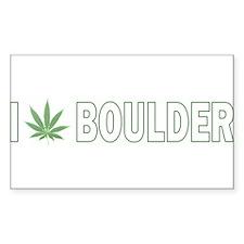 I Pot Boulder Rectangle Decal