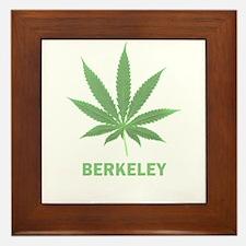 Berkeley, California Framed Tile