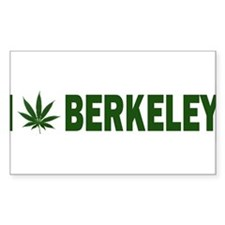I Pot Berkeley Rectangle Decal