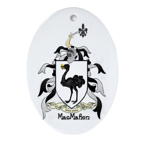 MacMahon Coat of Arms Keepsake Ornament
