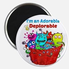Adorable Deplorables in Trump Basket of De Magnets
