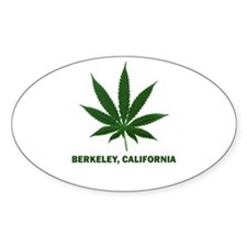 Berkeley, California Oval Decal