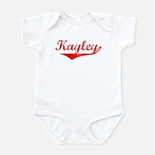 Kayley Vintage (Red) Infant Bodysuit