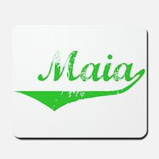 Maia Vintage (Green) Mousepad