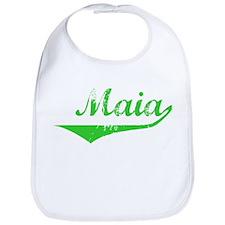 Maia Vintage (Green) Bib