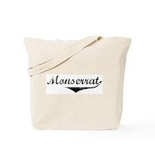 Monserrat Vintage (Black) Tote Bag