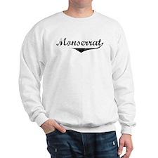 Monserrat Vintage (Black) Sweatshirt