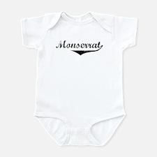 Monserrat Vintage (Black) Infant Bodysuit