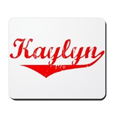 Kaylyn Vintage (Red) Mousepad