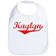 Kaylyn Vintage (Red) Bib