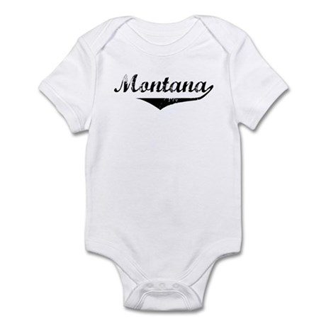 Montana Vintage (Black) Infant Bodysuit