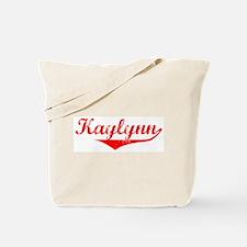 Kaylynn Vintage (Red) Tote Bag