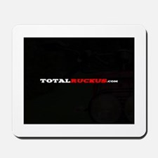 Black and White TR Mousepad