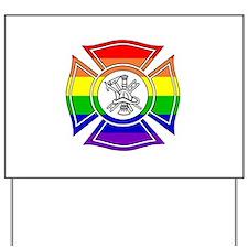 Fire Pride Yard Sign