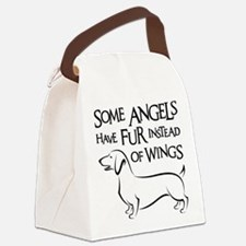 DOXIE ANGEL Canvas Lunch Bag