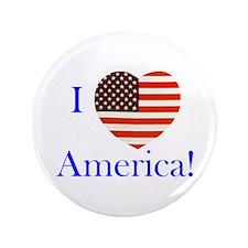"""I Love America! 3.5"""" Button"""