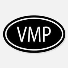 VMP Oval Decal