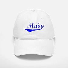 Maia Vintage (Blue) Baseball Baseball Cap