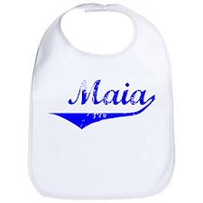 Maia Vintage (Blue) Bib