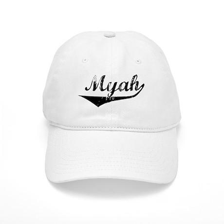 Myah Vintage (Black) Cap