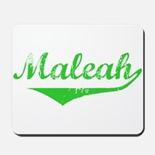 Maleah Vintage (Green) Mousepad