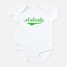 Maleah Vintage (Green) Infant Bodysuit
