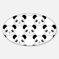 Cute Cartoon panda Decal