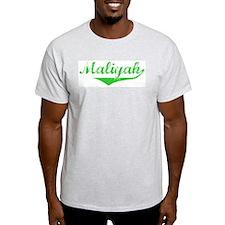 Maliyah Vintage (Green) T-Shirt