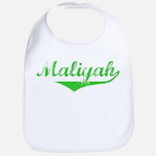 Maliyah Vintage (Green) Bib
