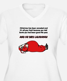 Christmas Is Cancelled Joke T-Shirt