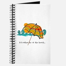 I'd rather be at the beach Journal