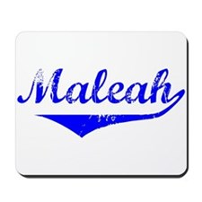 Maleah Vintage (Blue) Mousepad
