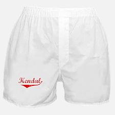 Kendal Vintage (Red) Boxer Shorts