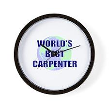 World's Best Carpenter Wall Clock