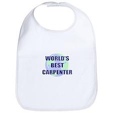 World's Best Carpenter Bib