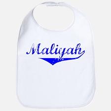 Maliyah Vintage (Blue) Bib