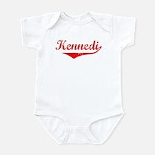 Kennedi Vintage (Red) Infant Bodysuit
