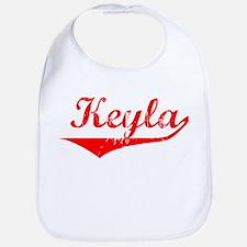 Keyla Vintage (Red) Bib