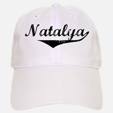 Natalya Vintage (Black) Baseball Baseball Cap