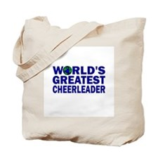 World's Greatest Cheerleader Tote Bag