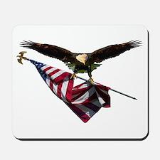 Eagle & Flag Mousepad