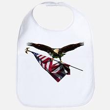 Eagle & Flag Bib