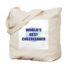 World's Best Cheerleader Tote Bag
