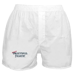 Volleyball Fanatic Boxer Shorts