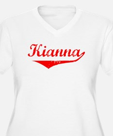 Kianna Vintage (Red) T-Shirt