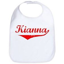 Kianna Vintage (Red) Bib