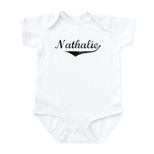 Nathalie Vintage (Black) Infant Bodysuit
