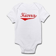 Kierra Vintage (Red) Infant Bodysuit